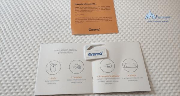 istruzioni materasso emma