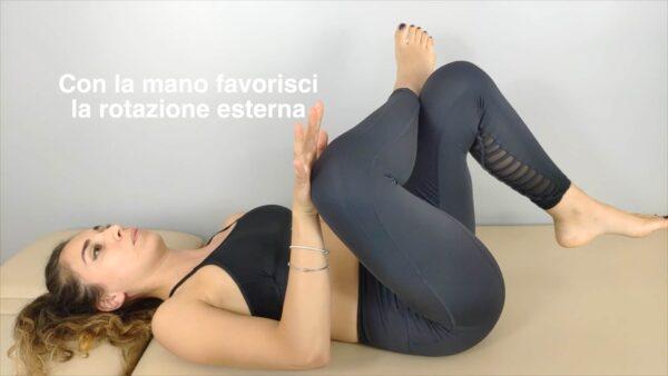 esercizio mobilità anca
